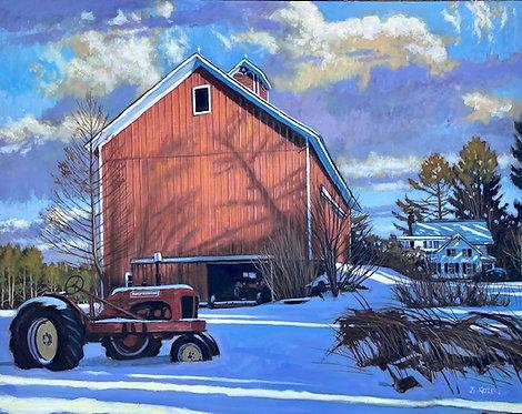 Ellis Hollow- Winter Light