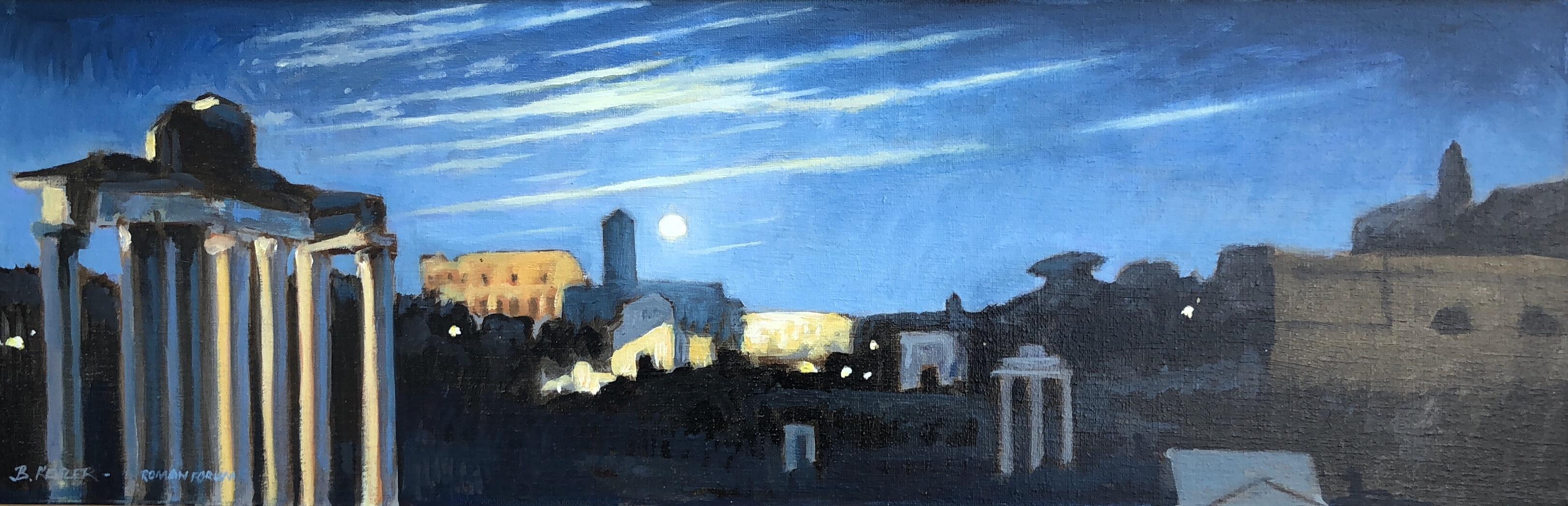 Roman Coliseum Nocturne