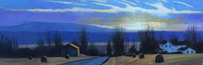 Winter Evening Light- Homet's Ferry, PA