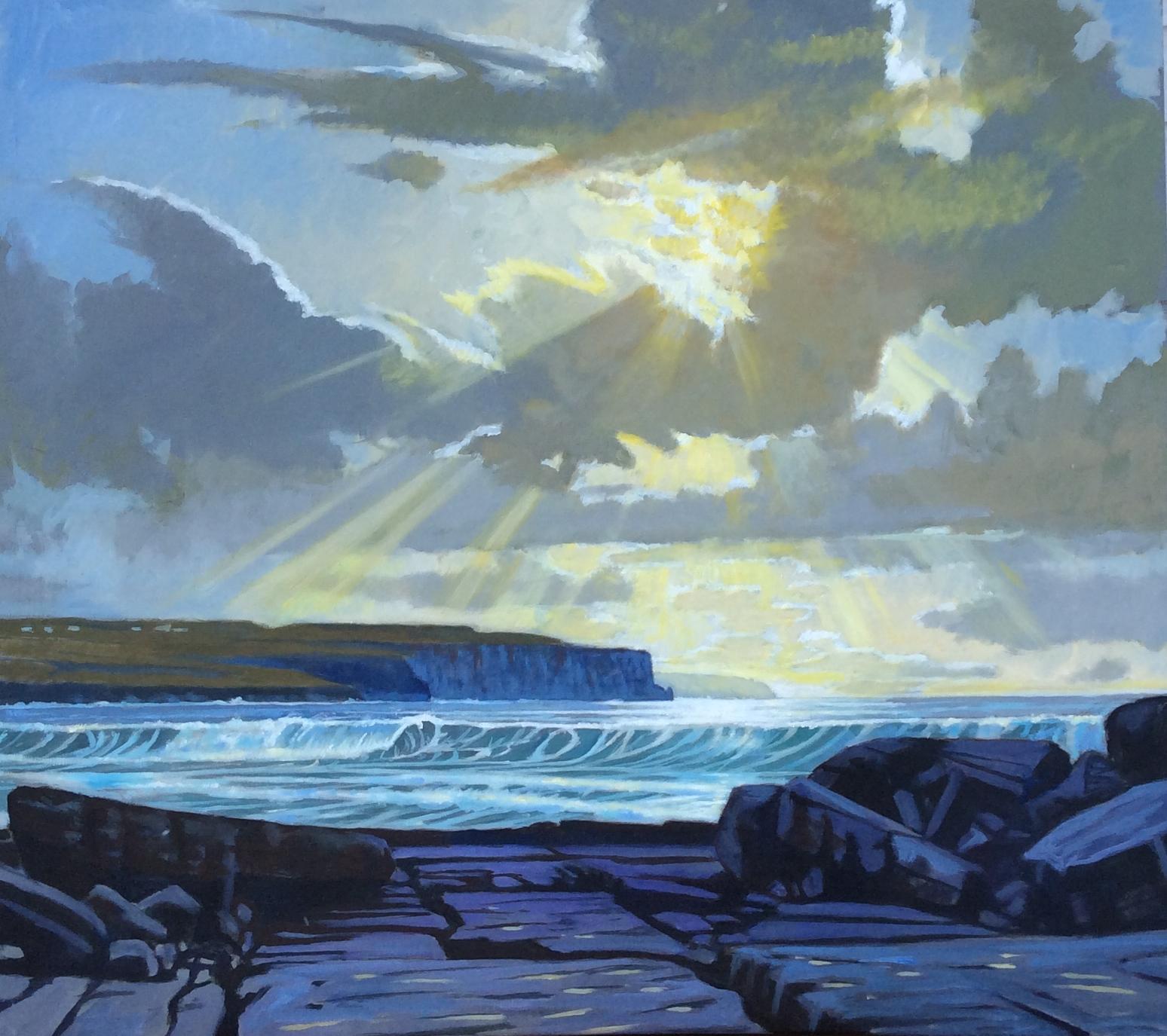 Oct. Light-Cliffs of Moher,Ireland