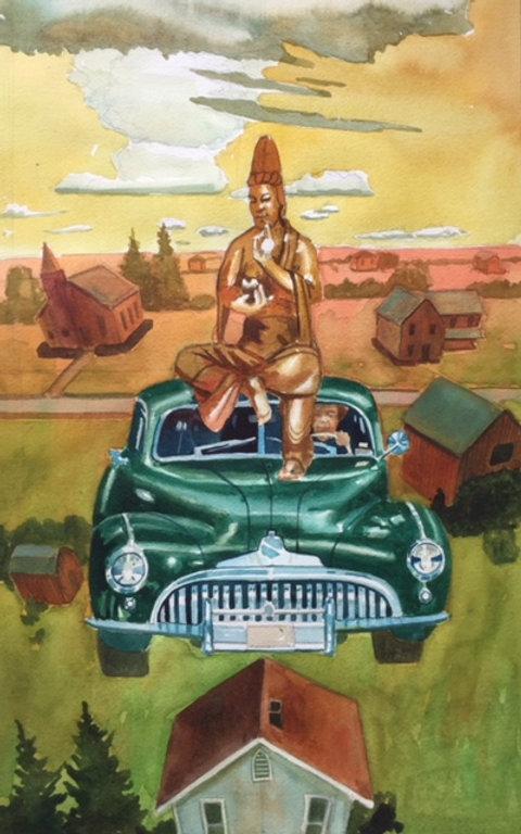 Buddha Buick  Watercolor 18 x12 $400.jpg