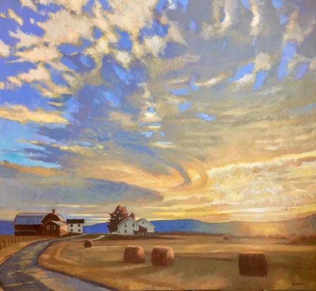 Winter Sky, Wyalusing Pa