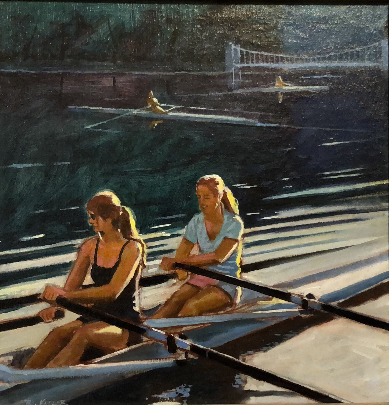 Two Scullers