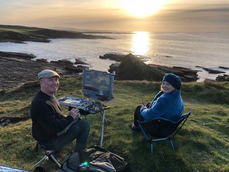 Irish Journal- The Painting Trip 2018