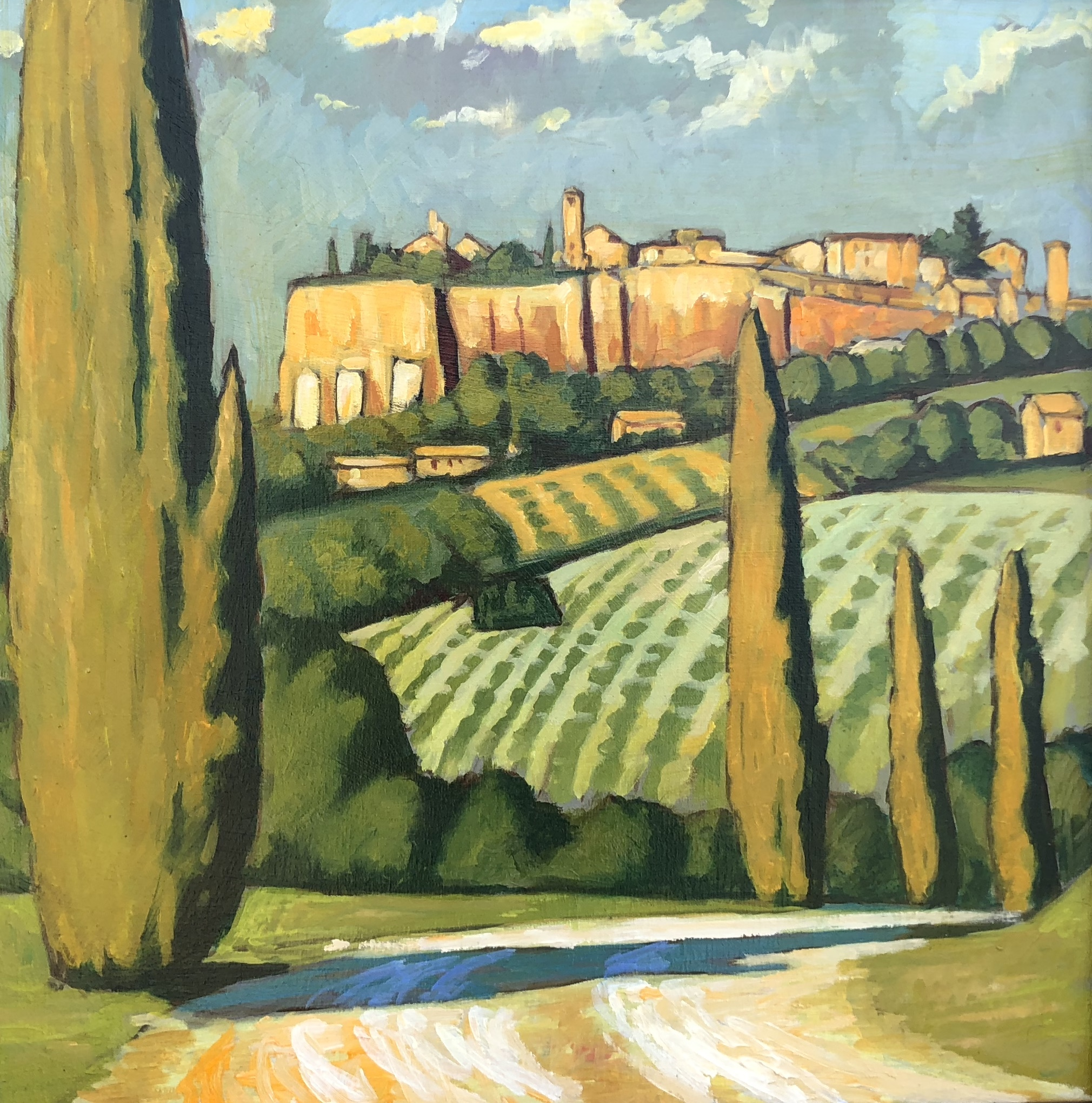 Orvieto, May Afternoon
