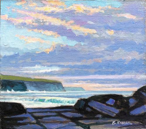 October Evening Cliffs of Moher