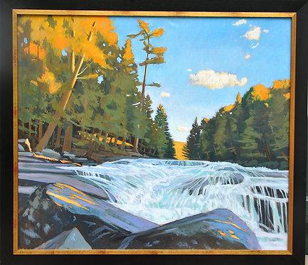 Raquette River August Light