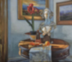 Still Life with Metronome Oil on linen 2