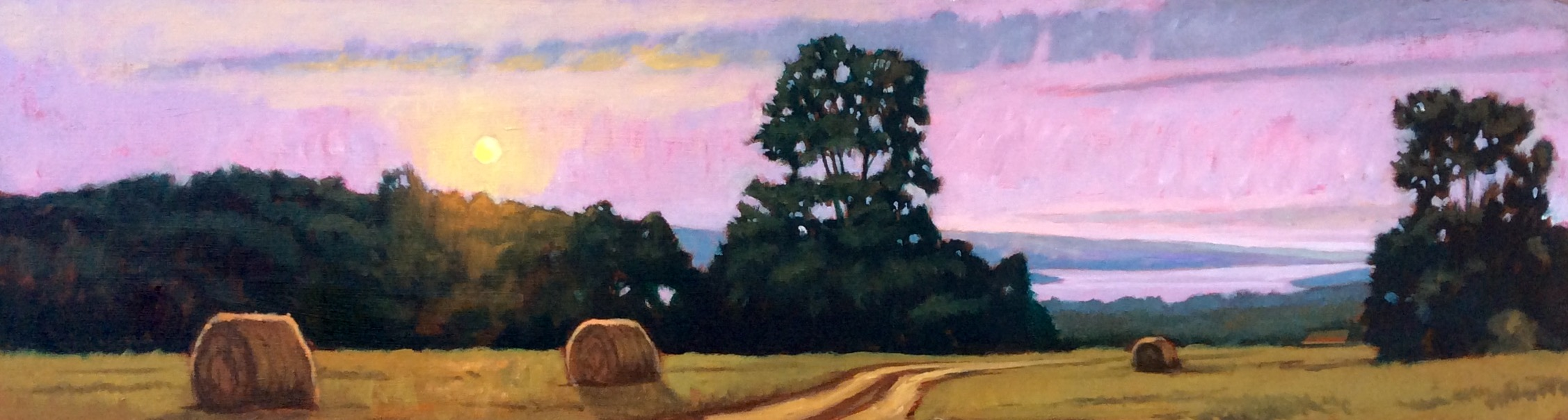Cayuga Summer Evening - SOLD