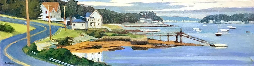 Summer Evening, East Boothbay, Maine