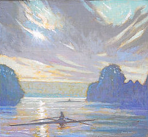 Cayuga Cool Light With Scullers