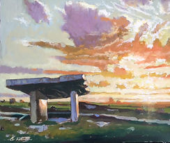 Poulnabrone October Evening, County Clar