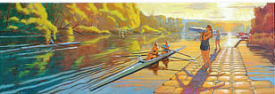 Cayuga Scullers - July Evening