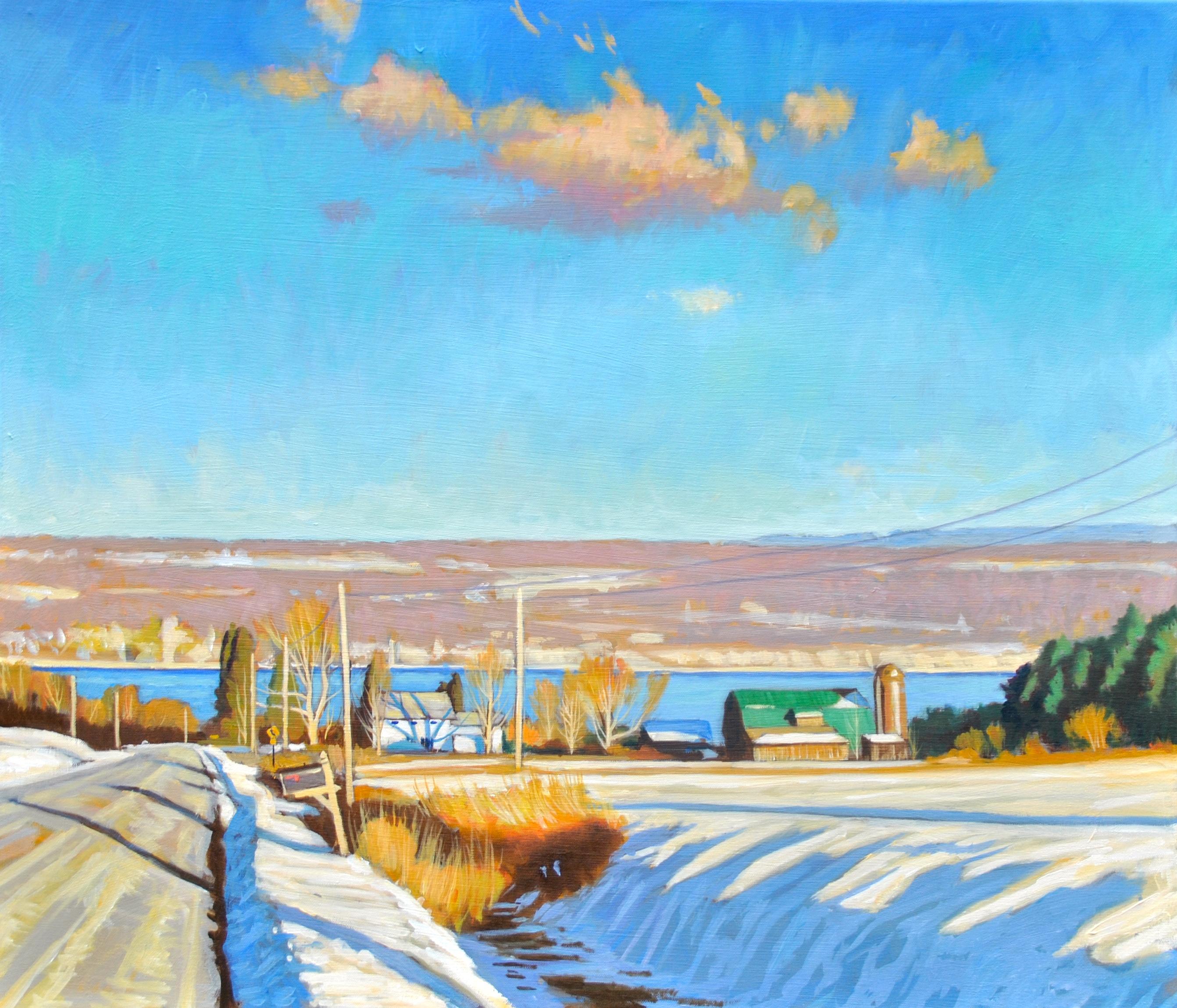 WInter Light Glenwood Road, Ithaca_NY#13AF