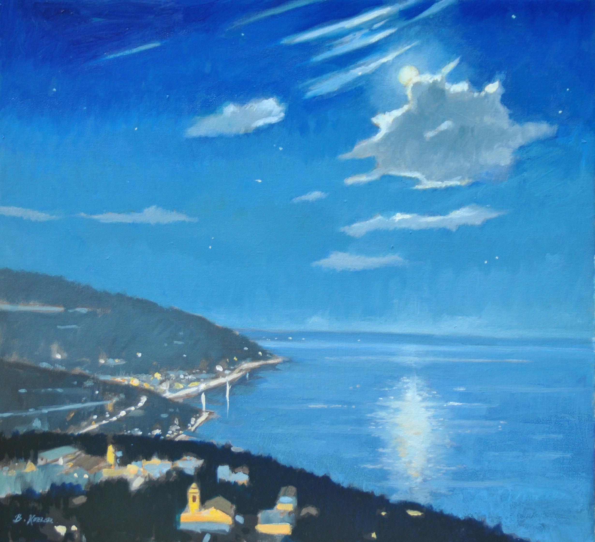 Tyrrhenian Moon Glow, Amalfi