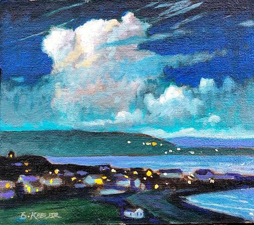 Nocturne at Innis Oirr Island