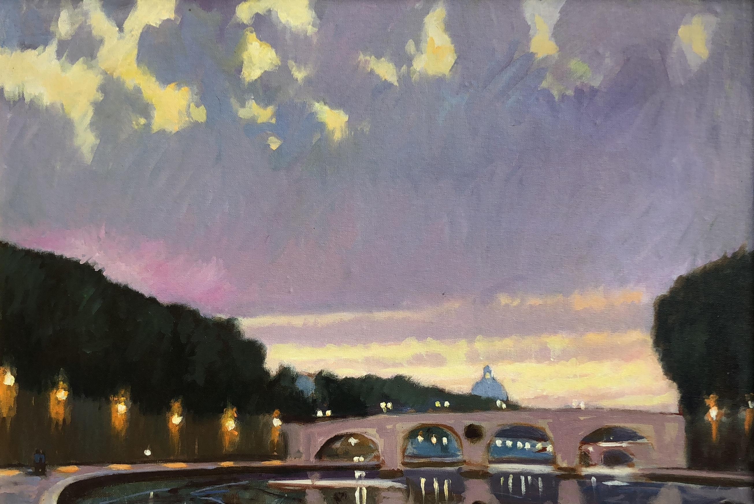 Tiber River - Sept. Eve
