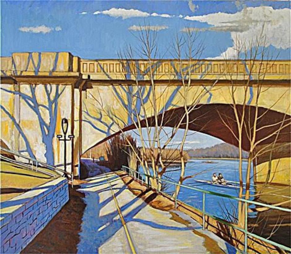 Schuykill River Spring Light Philadelphi
