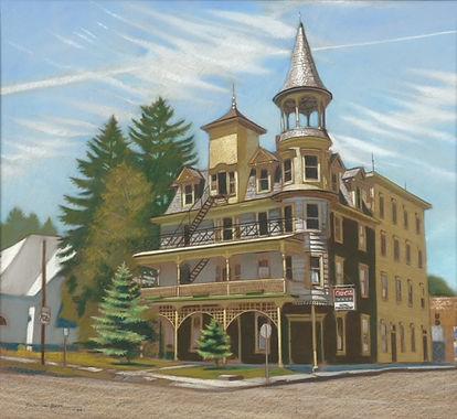 Middendorf Hotel- Wyalusing, PA.   Paste