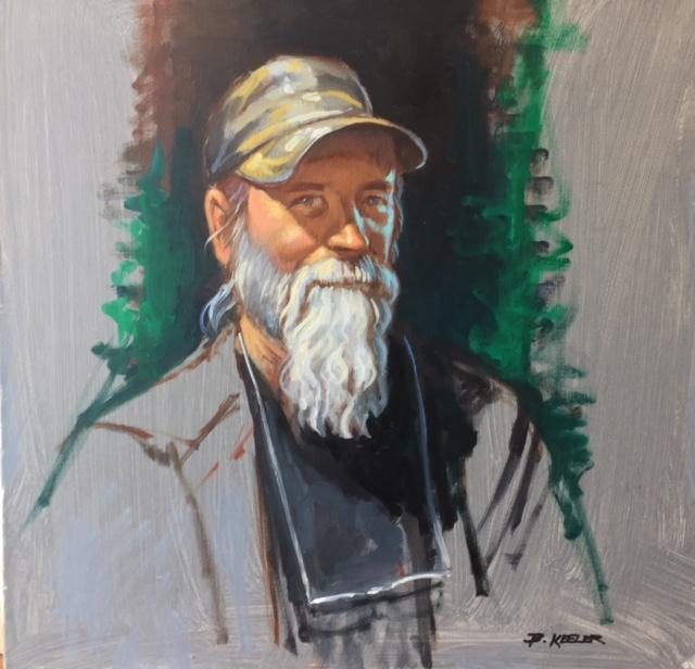 Portrait of Woody