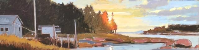 October Evening, Deer Isle, Maine