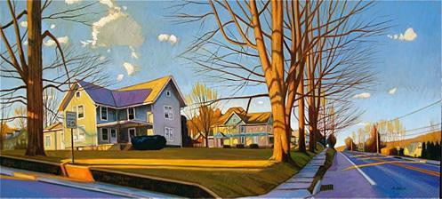 """Taylor Avenue Spring Light, Wyalusing, PA"""