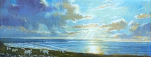 Seaside Sheep, Isle of Lewis, Scotland