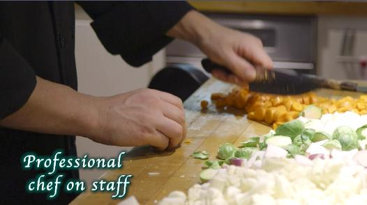 Professional Chef on Staff