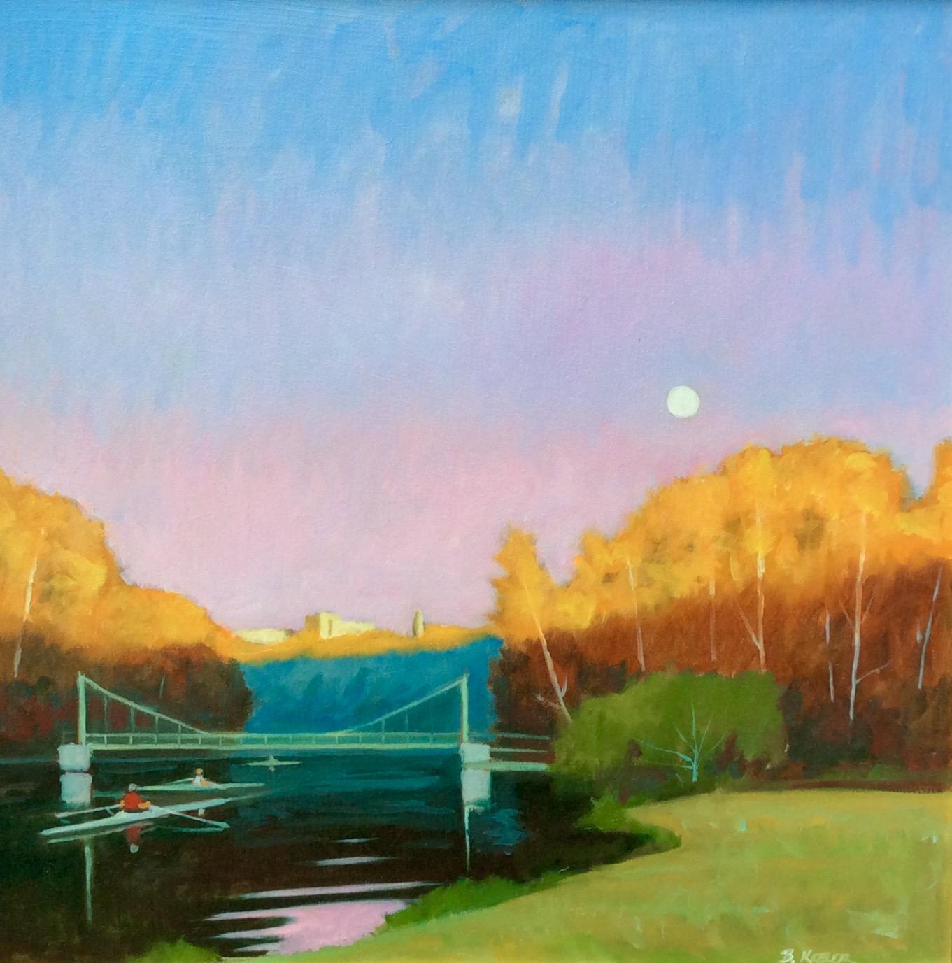 Cayuga Moonrise