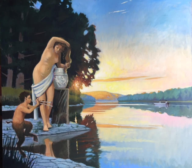 Susanna, Riverside Evening Bath