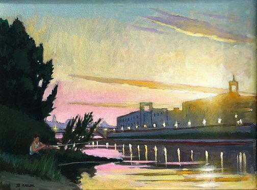 Arno Evening - Florence