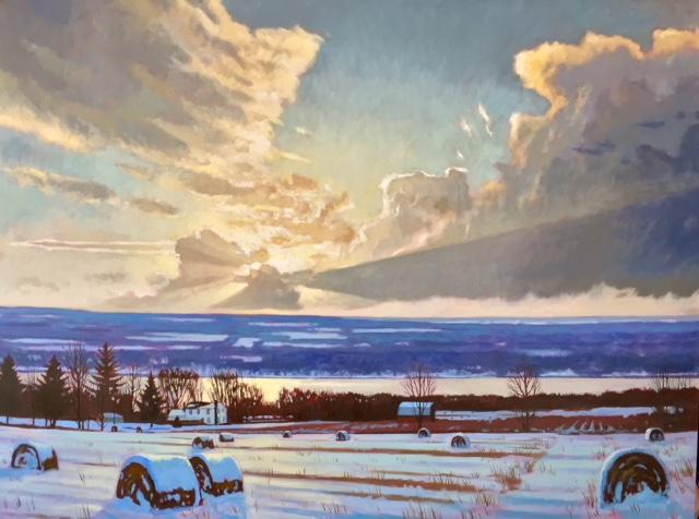 Winter Luminous Landscape
