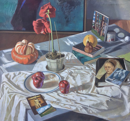 Still Life With Books