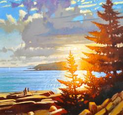 Acadian Light, Otter Point, Maine