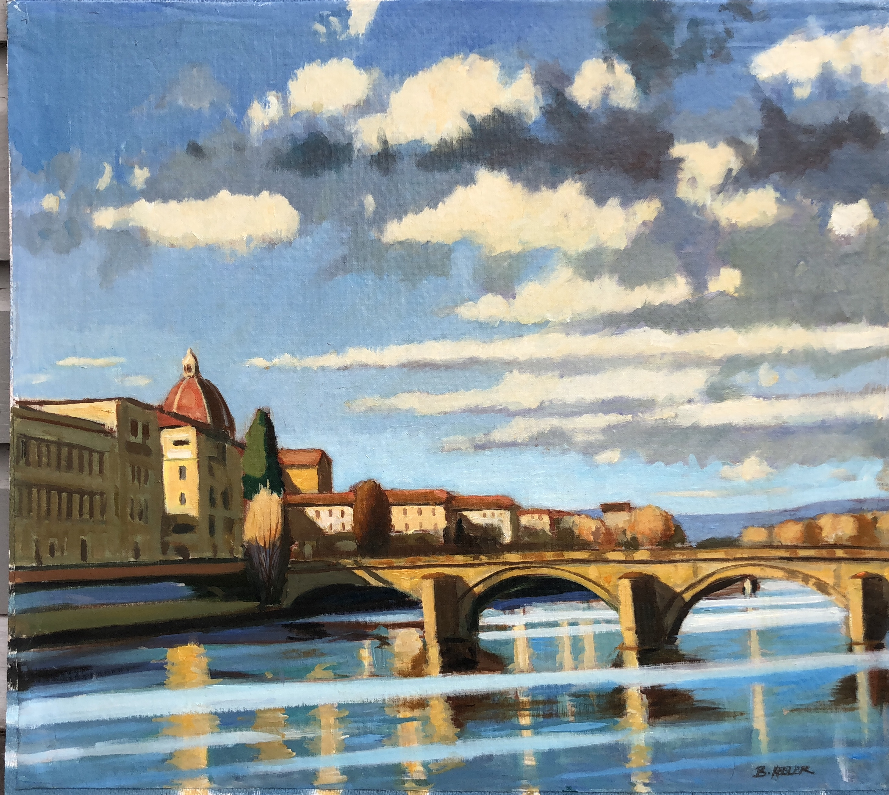Clouds Above the Arno - Florence