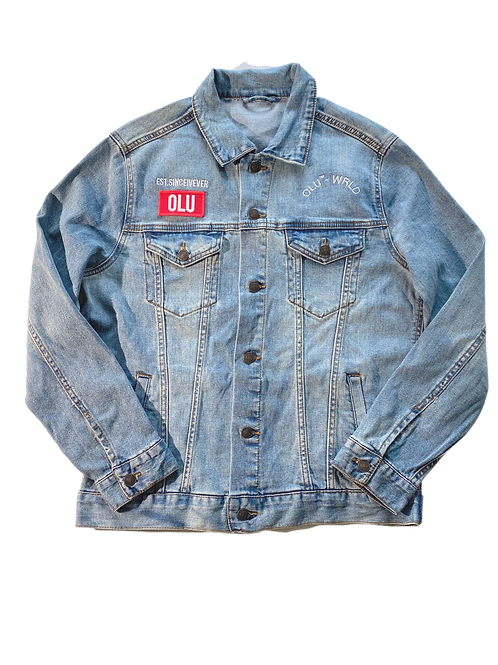 Olu-Wrld Denim Jacket