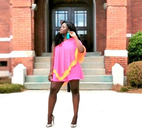 Couture Color block jumpsuit