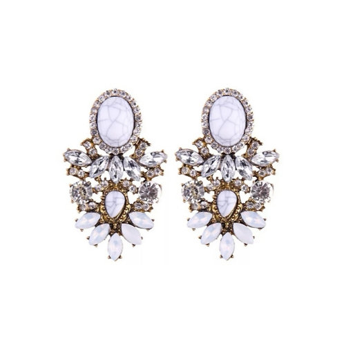 Crowned Jewel Earrings