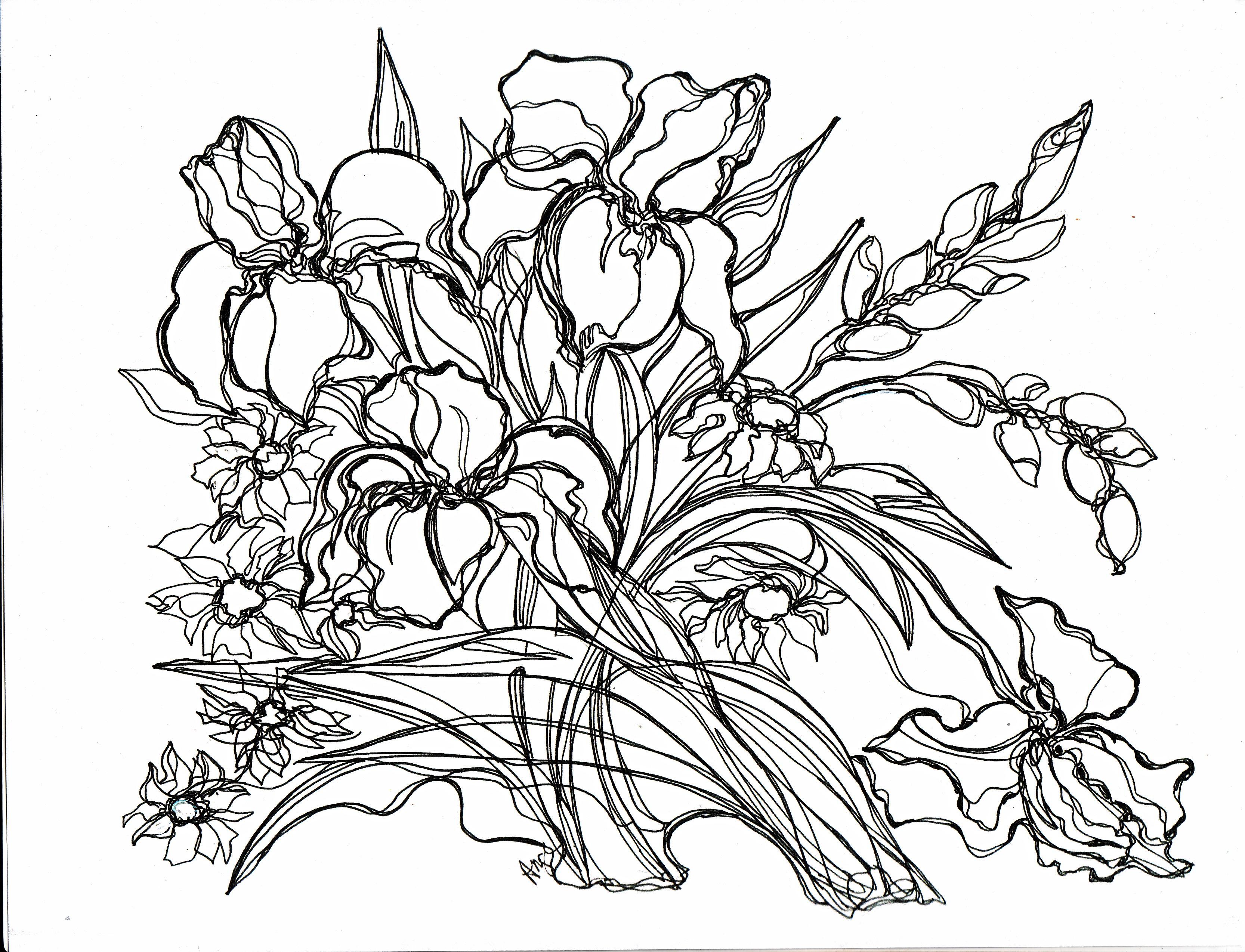 flowers art class 2