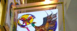 Closeup of top Art in Mobile