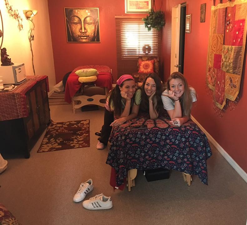 Ashley, Angel and Jaylan