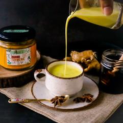 Turmeric Latte, Rooted Peepul