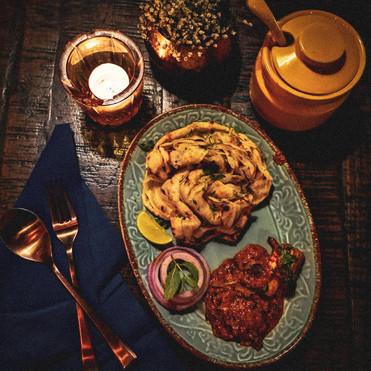 Dinner date flatlay