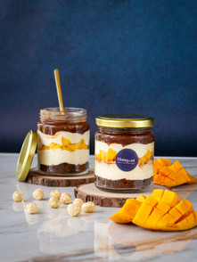 Mango Hazelnut Crunch Jar