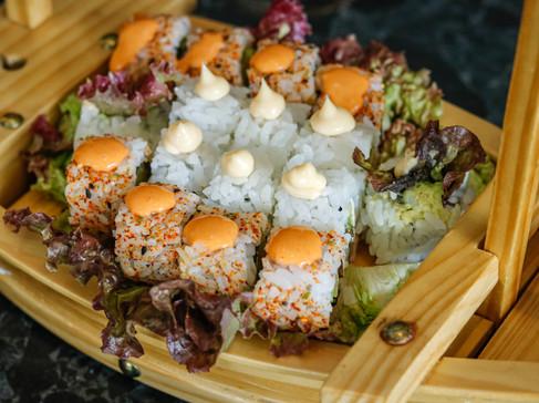 Sushi Boat Close up