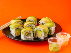 Double Avocado Roll, Sushi & More