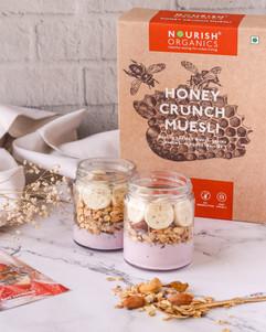 Granola Jars, Nourish Organics