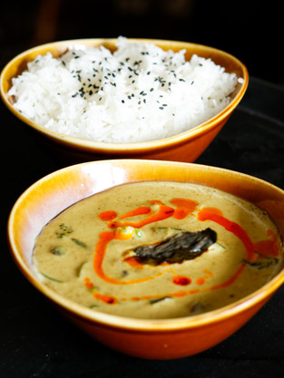 Thai Curry with steamed rice