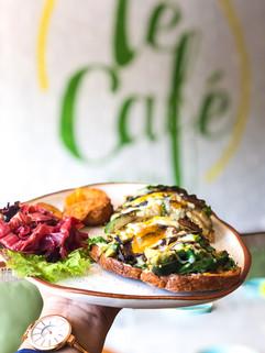 Avocado Toast, Le Cafe