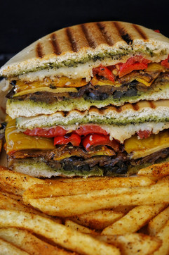 Italian Grilled Sandwich, A Hot Tin Roof